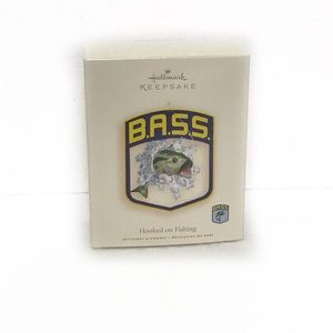 Hallmark Keepsake ESPN Bass Fishing Ornament